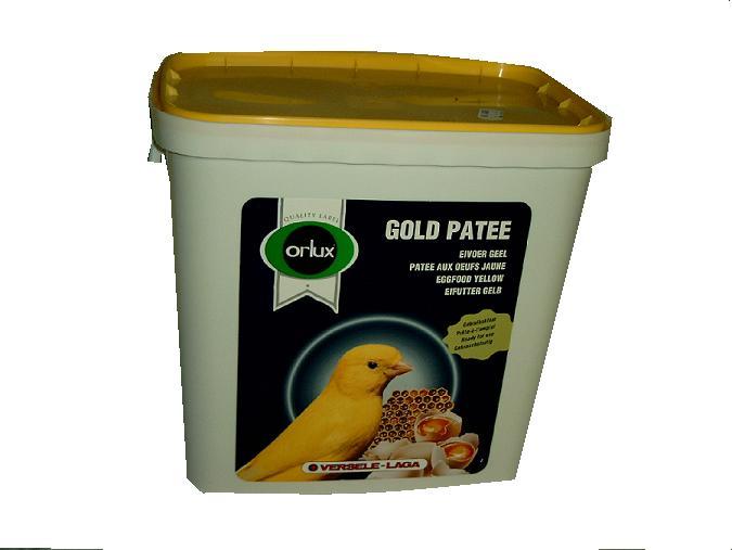 GOLD PATEE JAUNE ORLUX